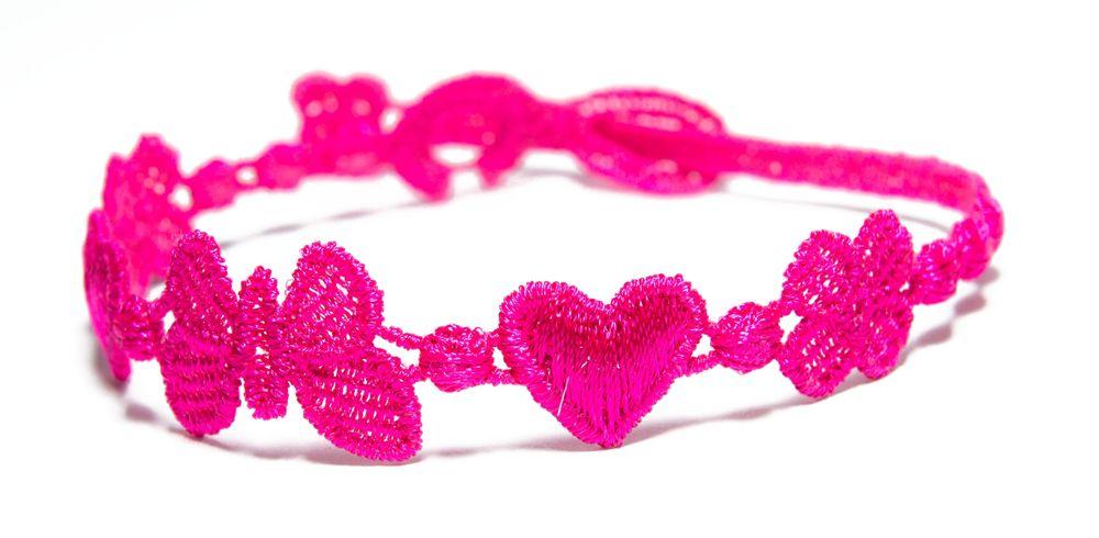 Náramok CRUCIANI Šťastie - láska - hojnosť cyklamenová
